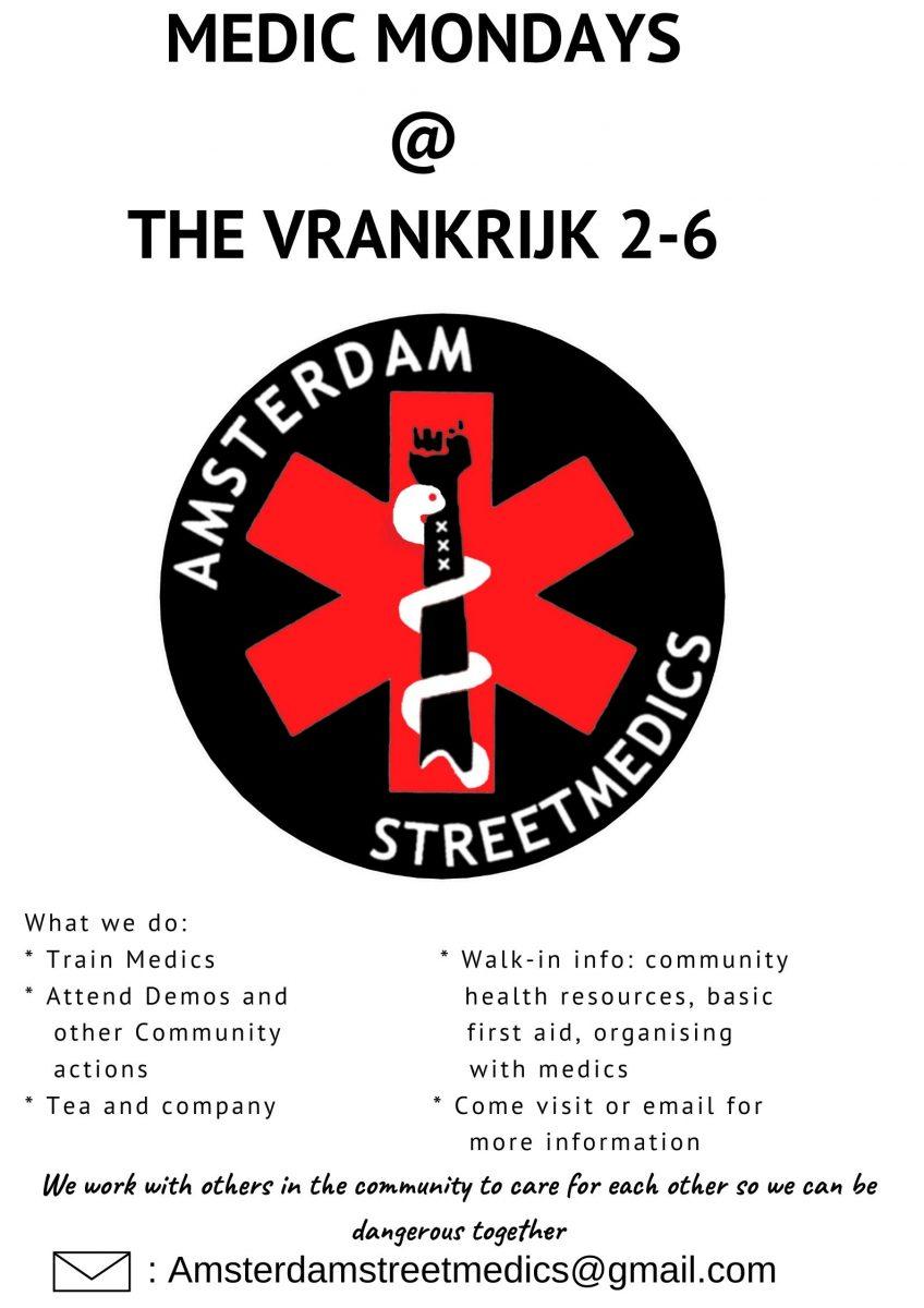 Street medics poster
